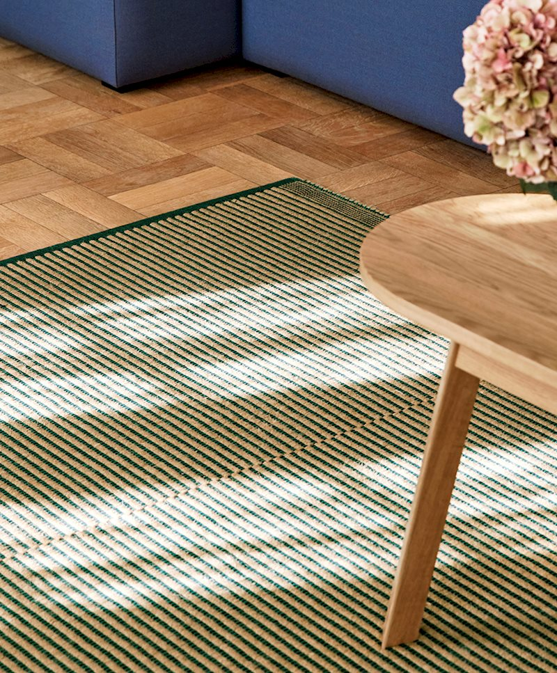 Tapis Teppich Off-white and Lavender 170 x 240 cm   Hay
